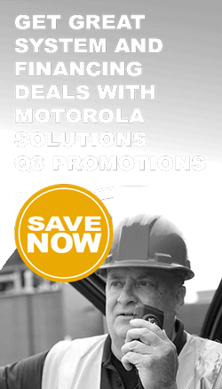 Motorola two-way radio promotions
